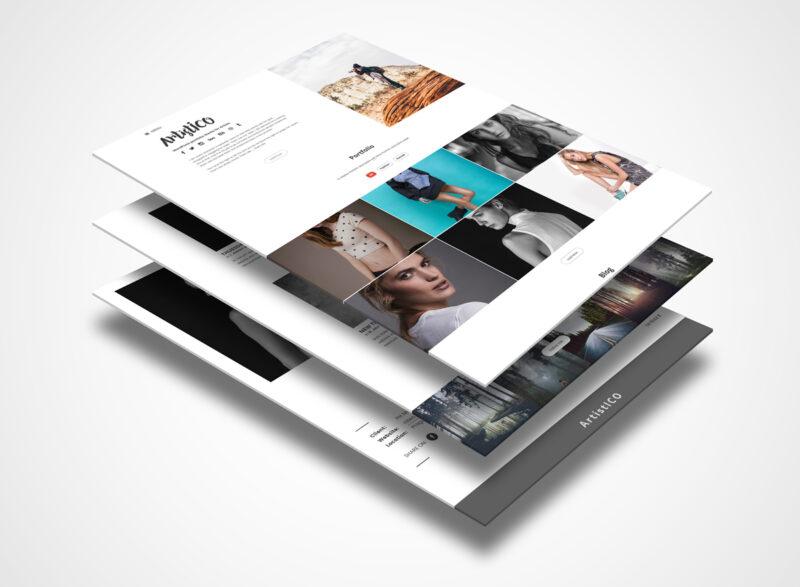 ArtistICO – WordPress theme