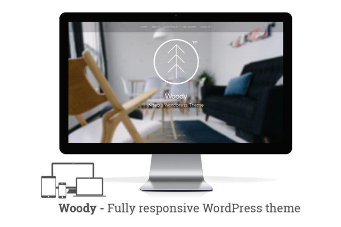 Woody – Minimal Portfolio Theme