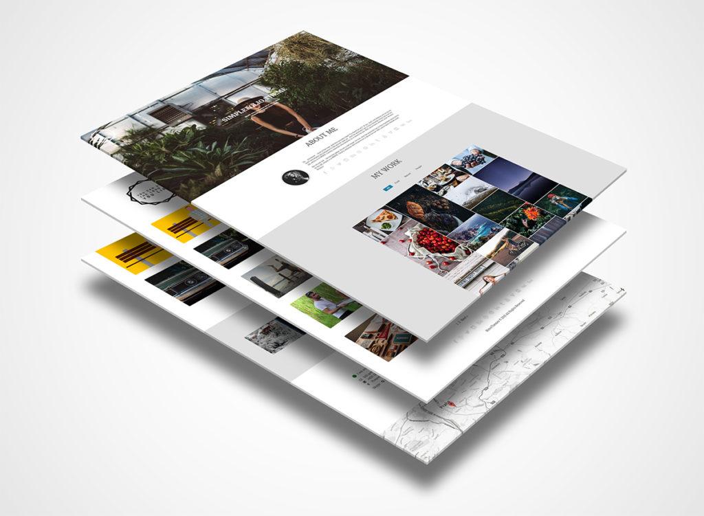 Simplefolio – Portfolio WP Theme