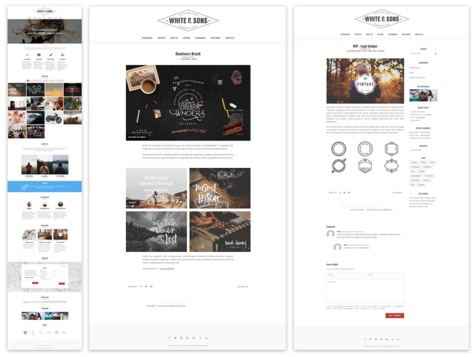 Tessa – Agency WP Theme