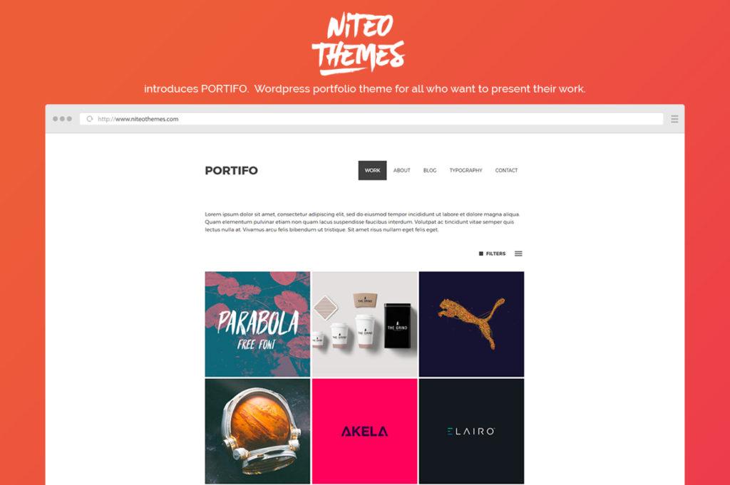 Portifo – Portfolio WP Theme