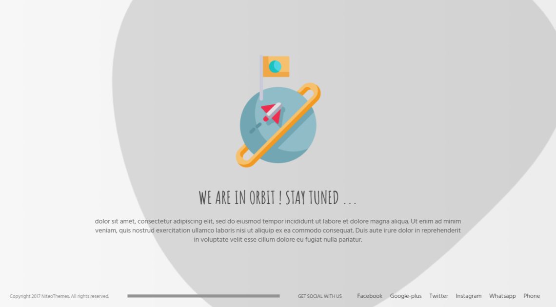 CMP – Orbit theme