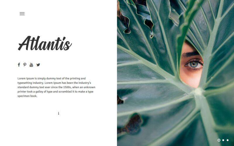Atlantis – WordPress theme
